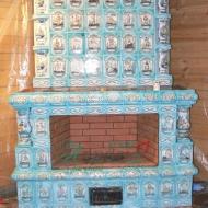Изразцовый камин Кириллов