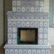 Изразцовый камин Голландский