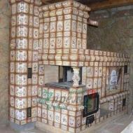 Русская печь Колонная