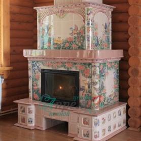 Изразцовый камин Киржач