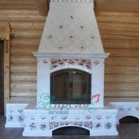Изразцовый камин Ногинск